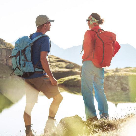 Stop am Bergsee, Sommerurlaub im Stubaital