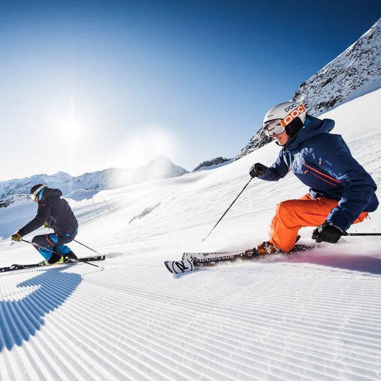 Königlich Skifahren am Stubaier Gletscher, Winterurlaub im Stubaital