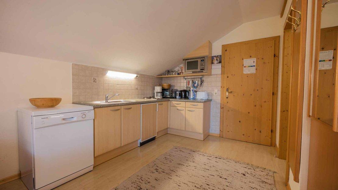 Küchenblock in einem Niggnhof Appartement